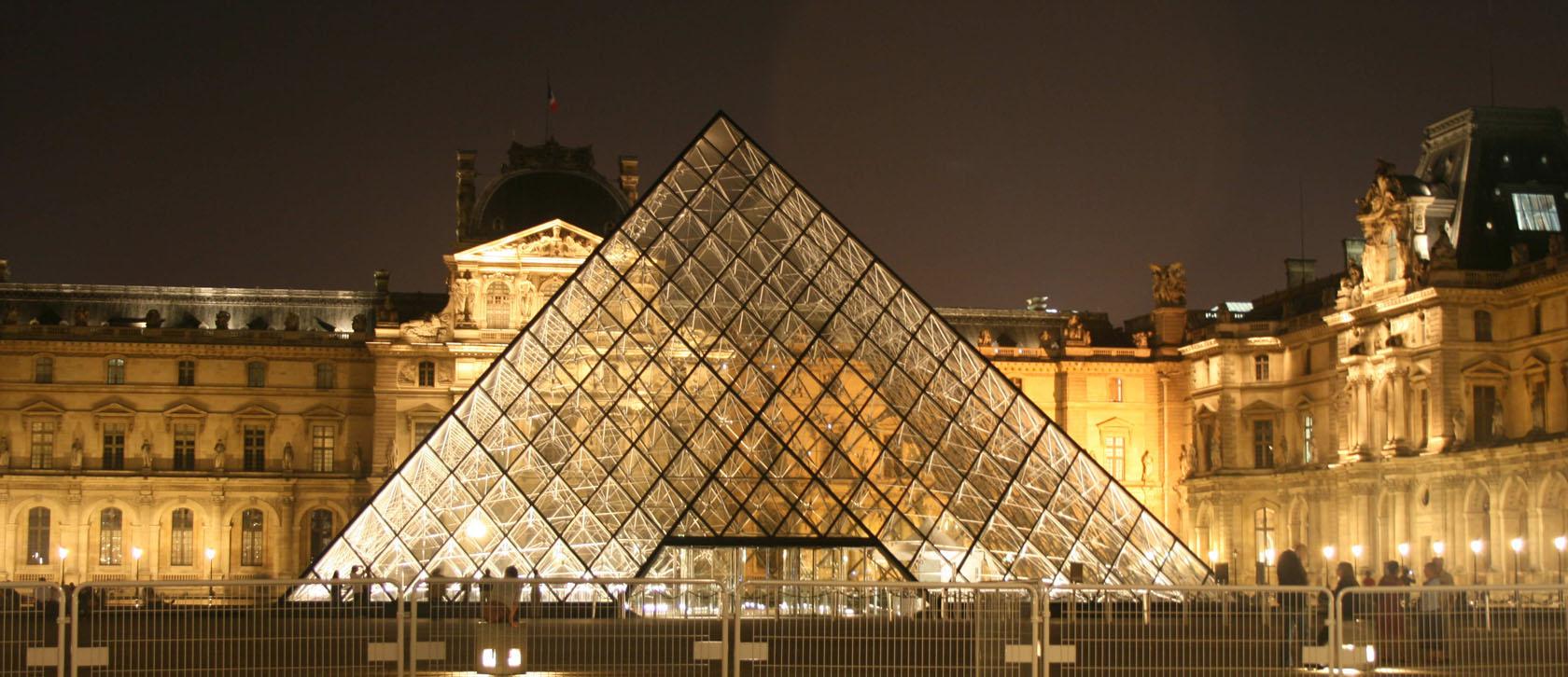 卢浮宫外的金字塔 - 健康生活